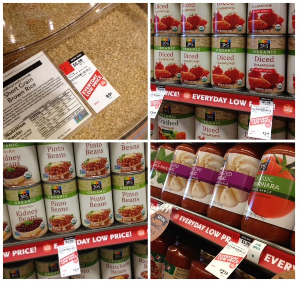 365 Products at Whole Foods