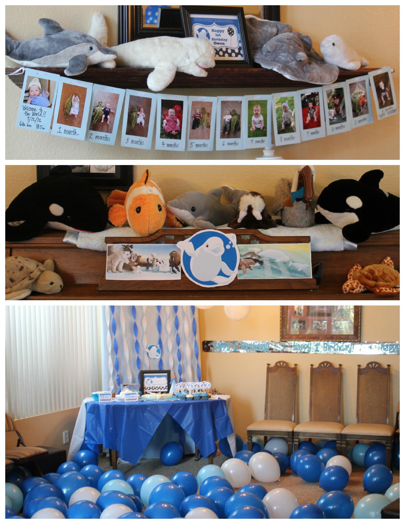 Baby Beluga Party Decor