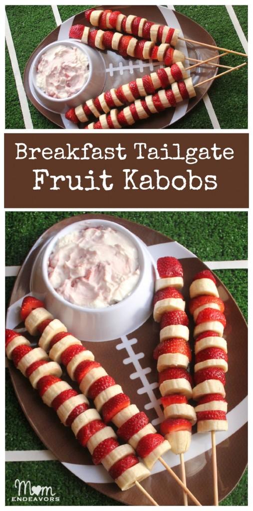 Breakfast Tailgate Fruit Kabobs