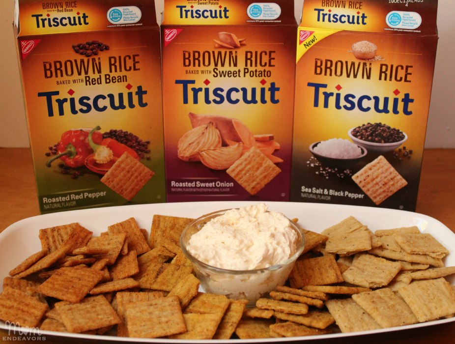 Cheese Dip & Brown Rice Triscuits