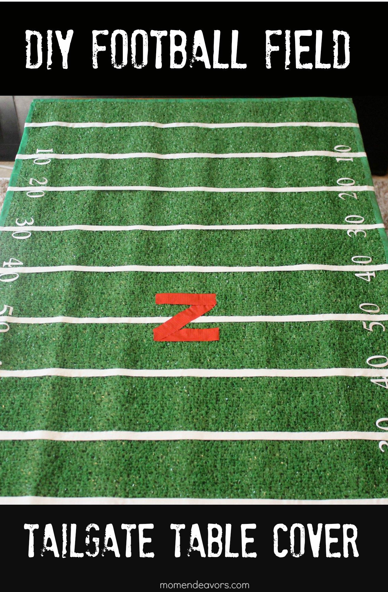Details: • 1 Football Field Table Runner • Football Table Runner measures 88