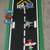 Disney Planes Toys DIY Play Runway #WorldofCars