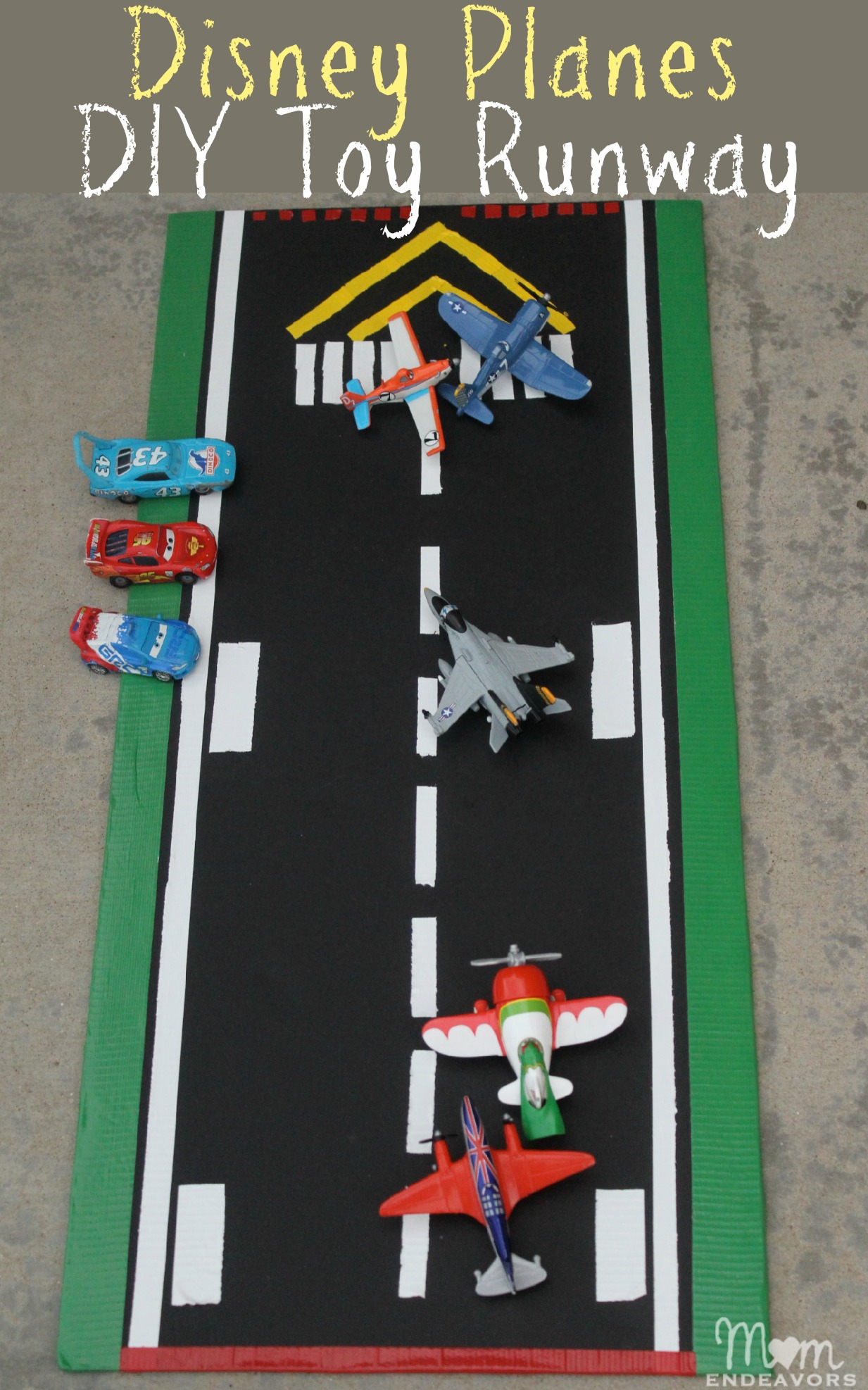 Disney Planes DIY Toy Play Runway #WorldofCars #shop