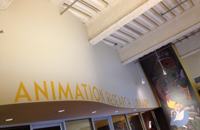 Disney's Animation Research Library