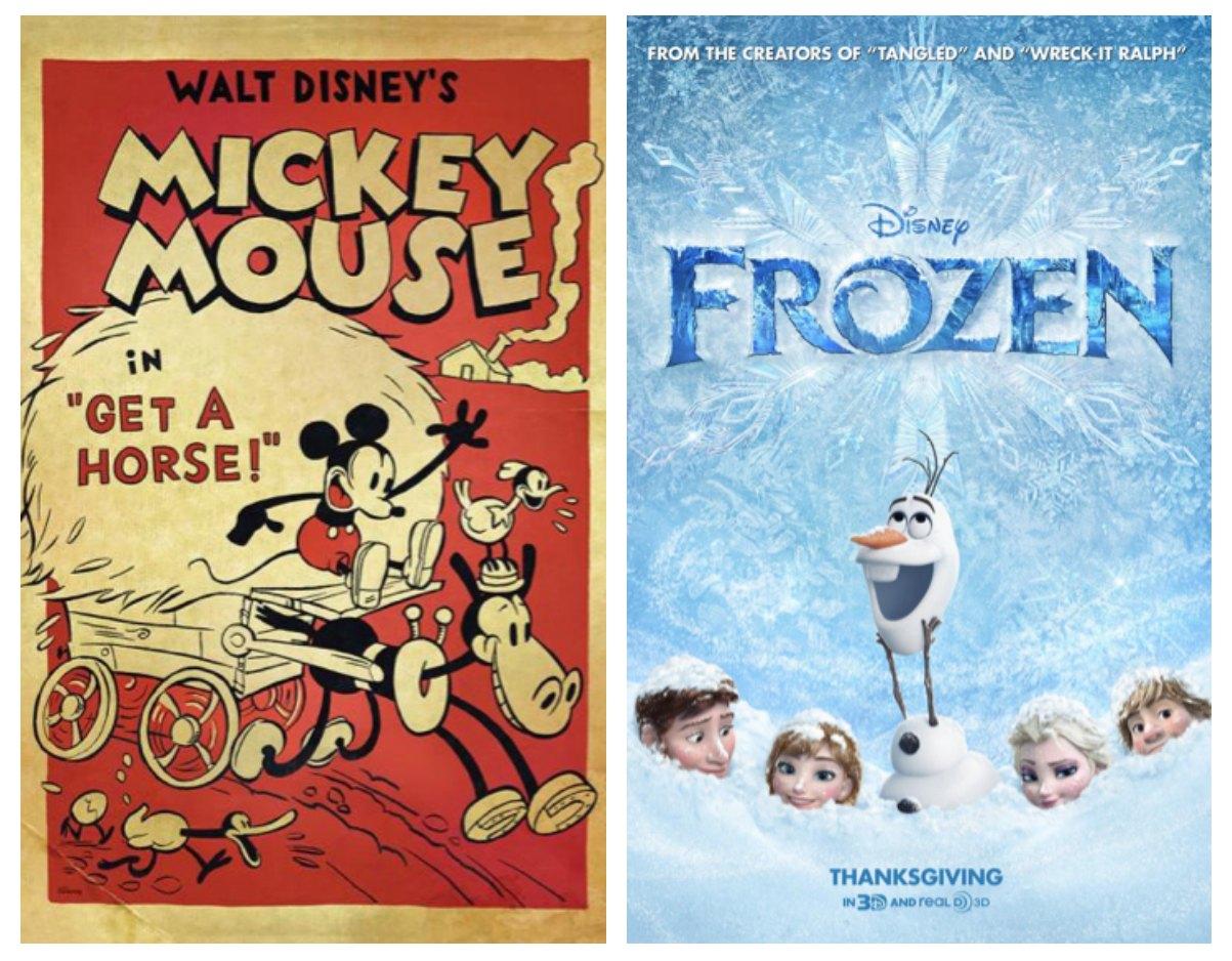 Disney's Frozen & Get A Horse Short