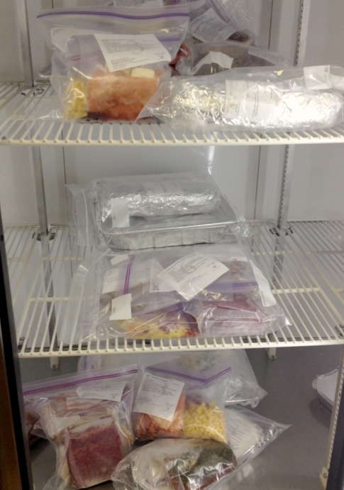 Dream Dinners Freezer
