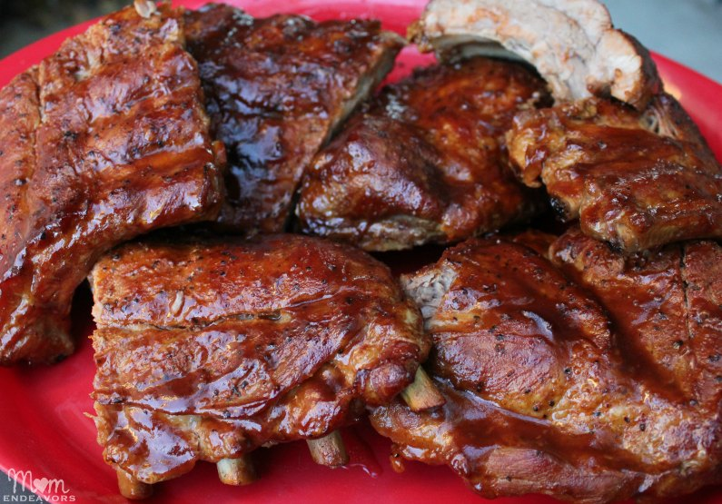 Drunken & Smoked Baby Back Ribs