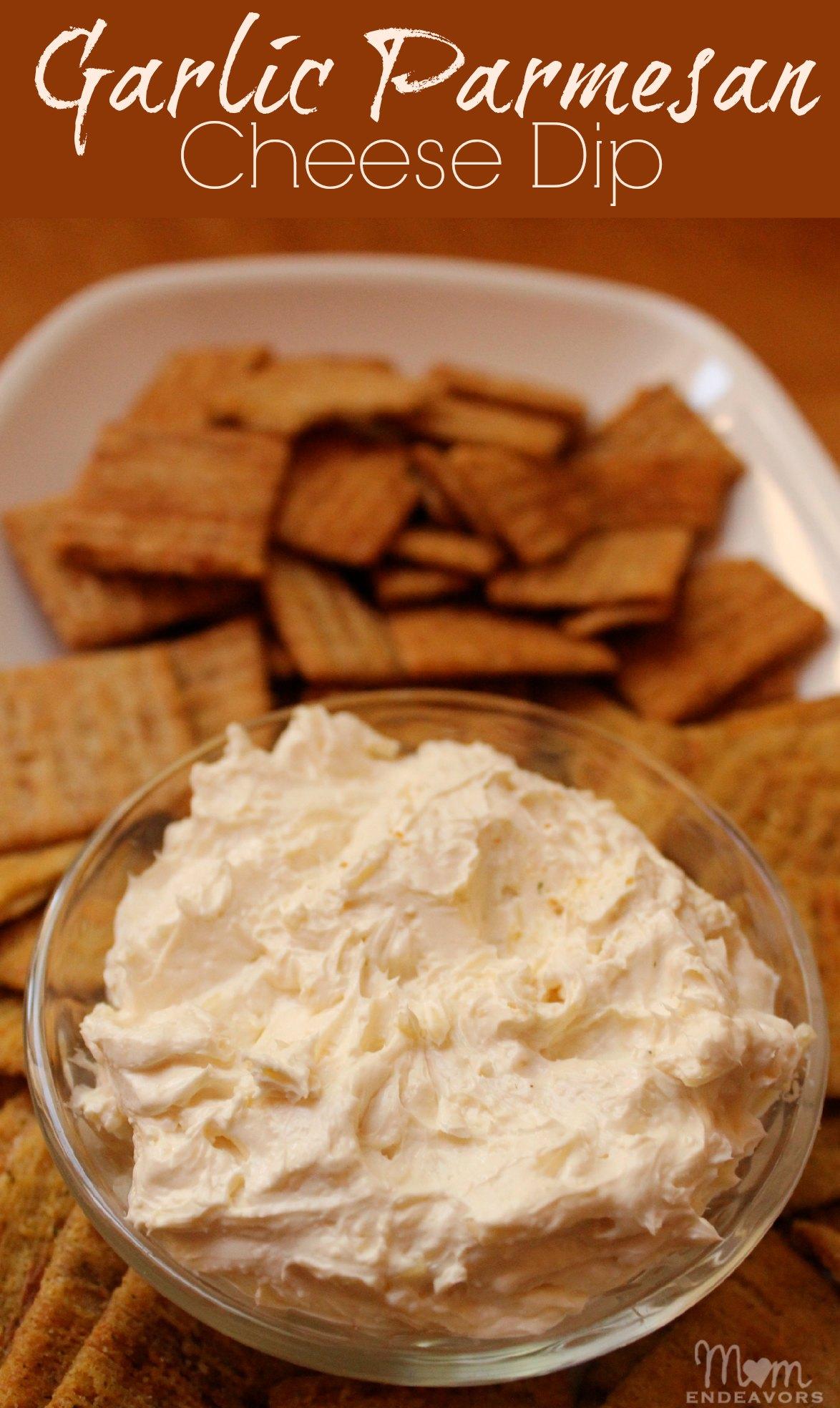 Garlic Parmesan Cheese Dip