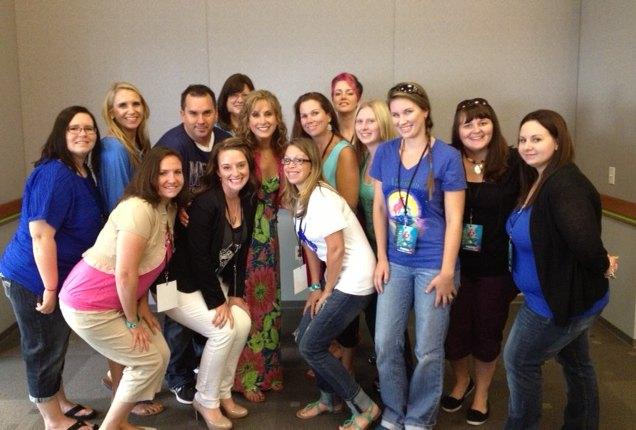 Jodi Benson Interview Group Photo