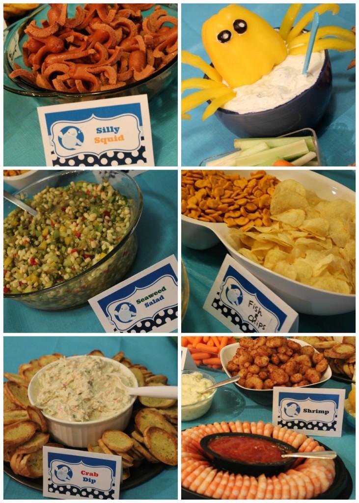 Ocean Party Food