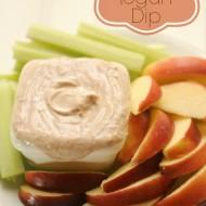 PB&J Greek Yogurt Dip