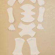 Fun & Easy Halloween Craft – Mr. Bones Paper Plate Skeleton