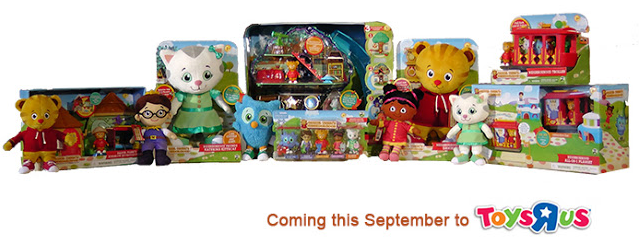Daniel Tiger's Neighborhood Toy line