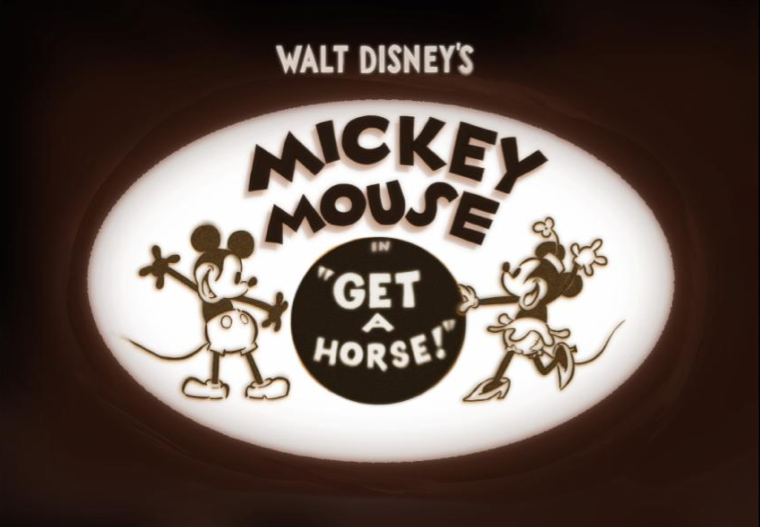 Disney's Animated Short Get a Horse