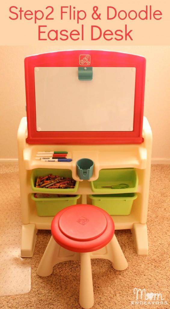 Step2 Flip & Doodle Easel Desk
