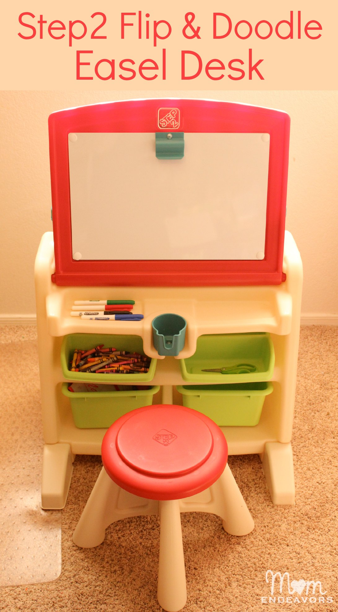 This little art desk & easel is one of our favorite things!
