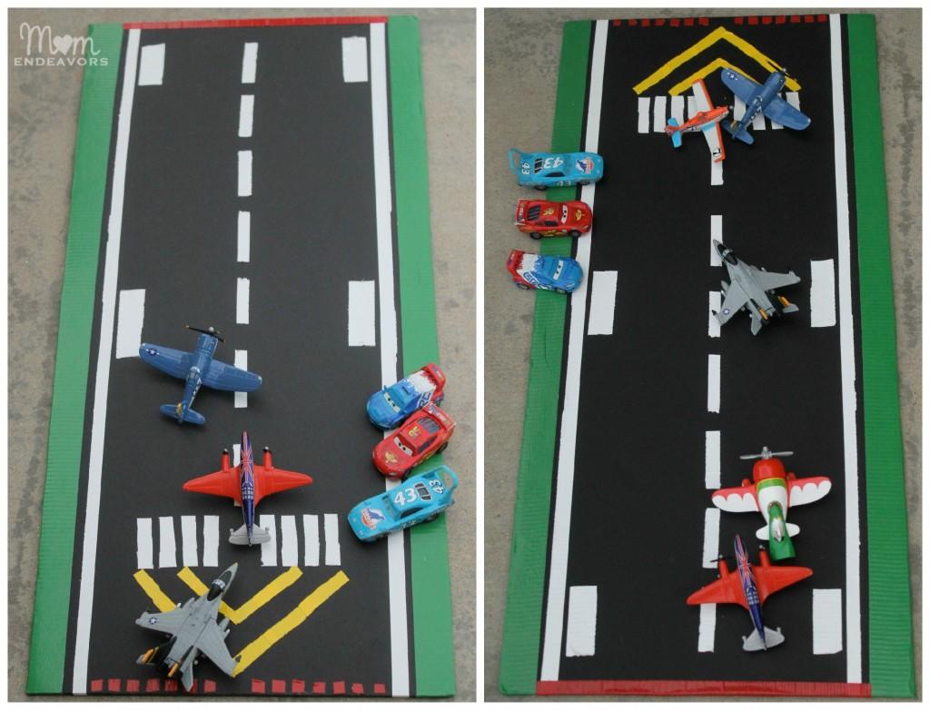 Toy Planes DIY Runway #shop