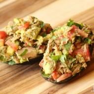 Tuna Stuffed Avocados – An easy, fresh & healthy meal!