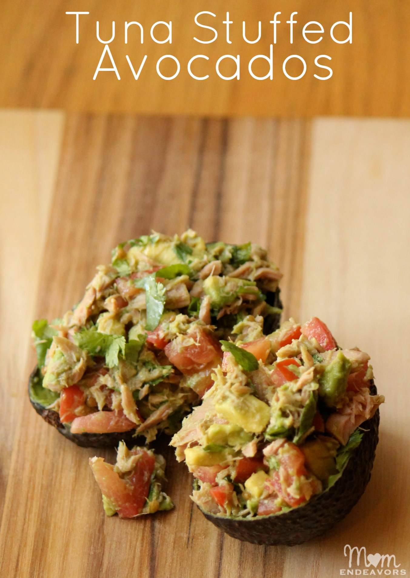 Tuna Stuffed Avocados Recipe — Dishmaps