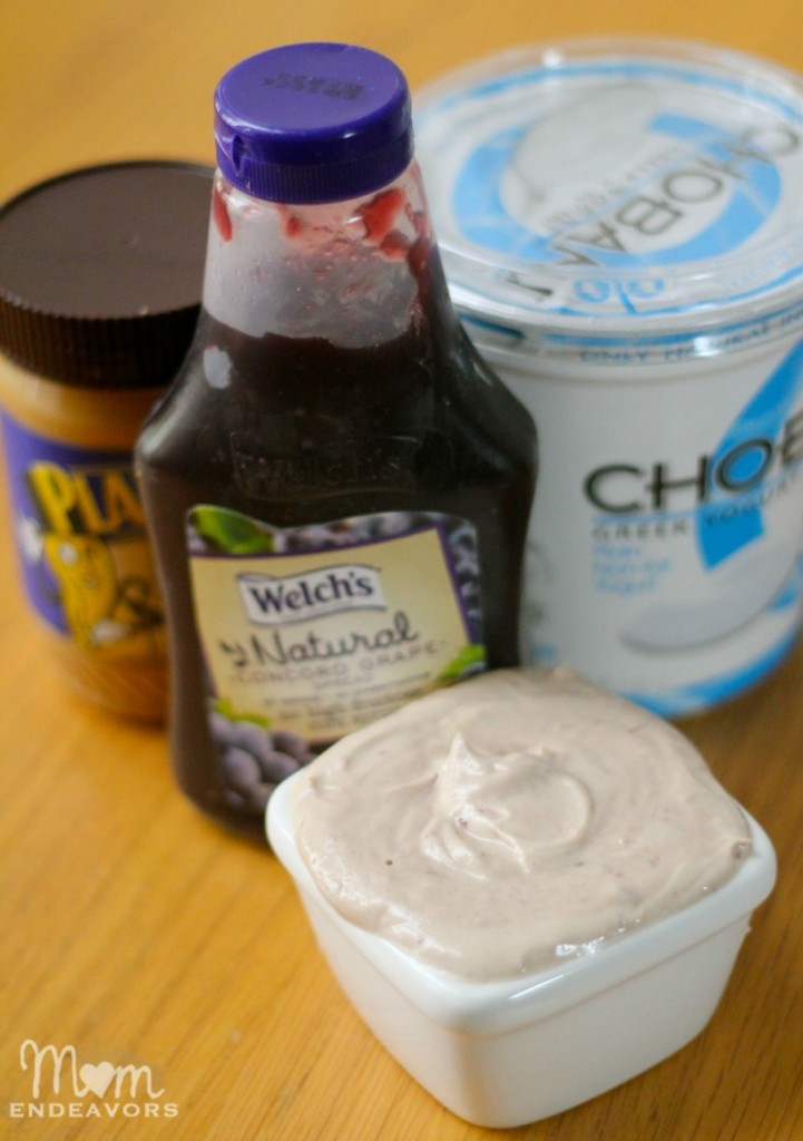 Welch's Peanut Butter & Jelly Dip
