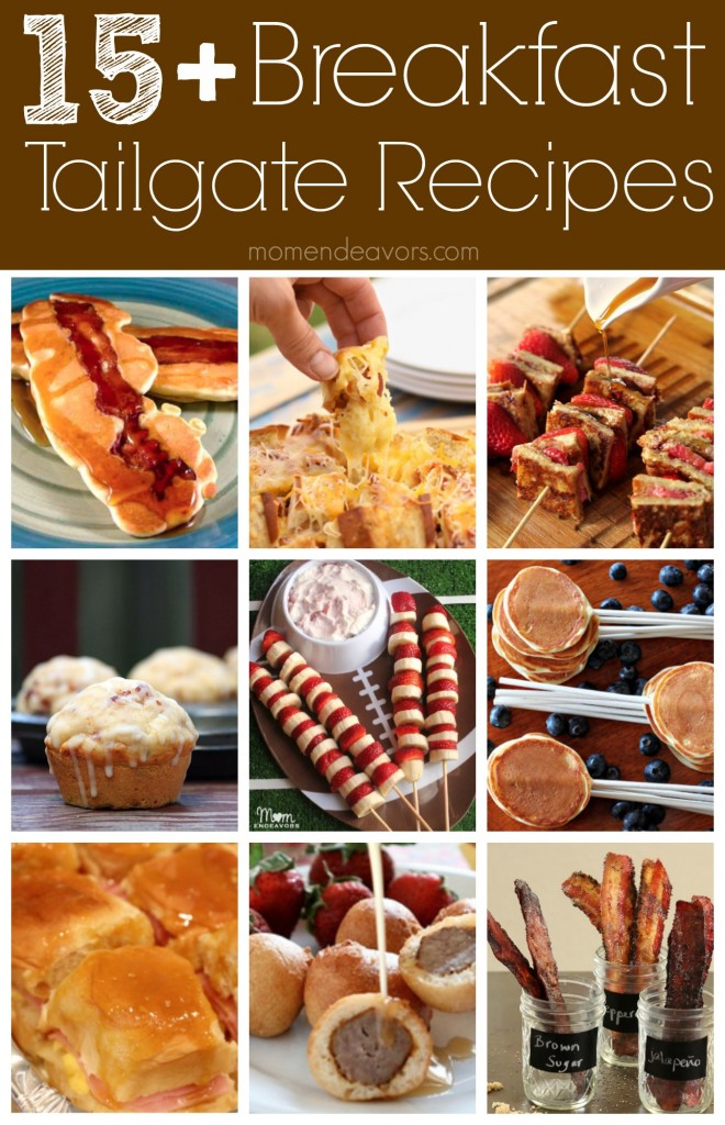 Fun Breakfast Tailgate Recipe Ideas