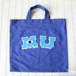 DIY Monsters University Tote Bag