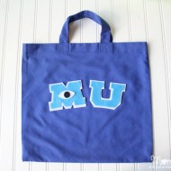 DIY Monsters University Trick-or-Treat Bag