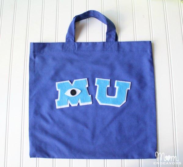 DIY Monsters University Tote Bag