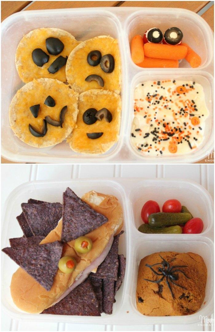 Easy Halloween Lunch Ideas