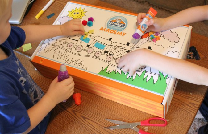 Elmer's Early Learners Academy Box