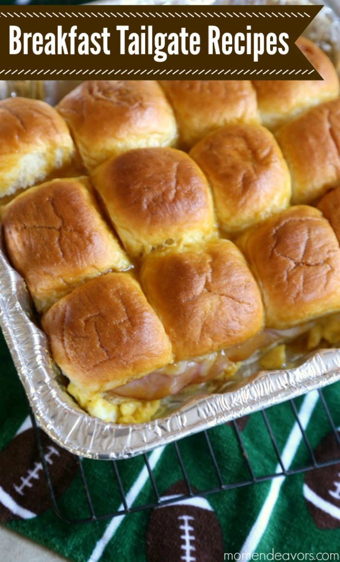 Gameday Breakfast Tailgate Recipes