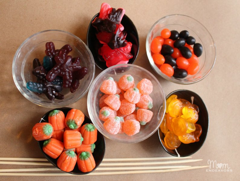 Gummy Halloween candies