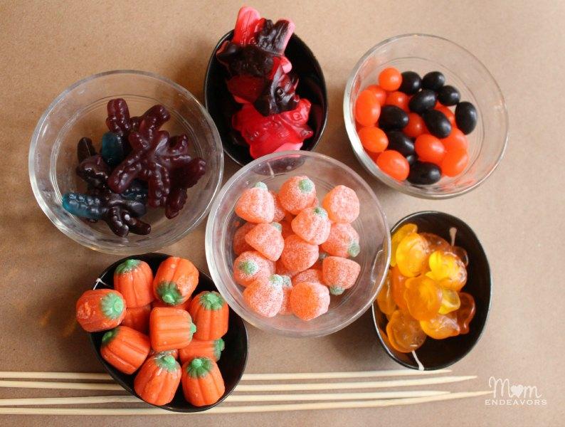 Gummy Halloween candies