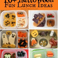 10+ Fun & Easy Halloween Lunch Ideas