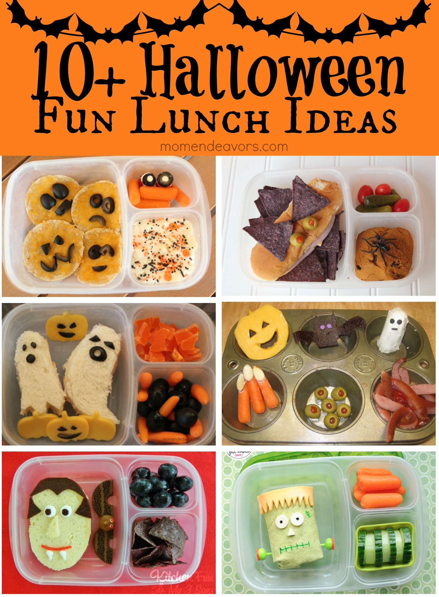30 halloween fun food recipes for kids halloween lunch ideas forumfinder Choice Image