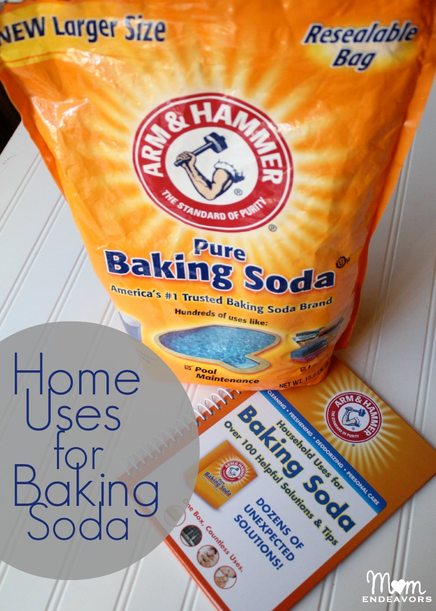 Home uses for baking soda