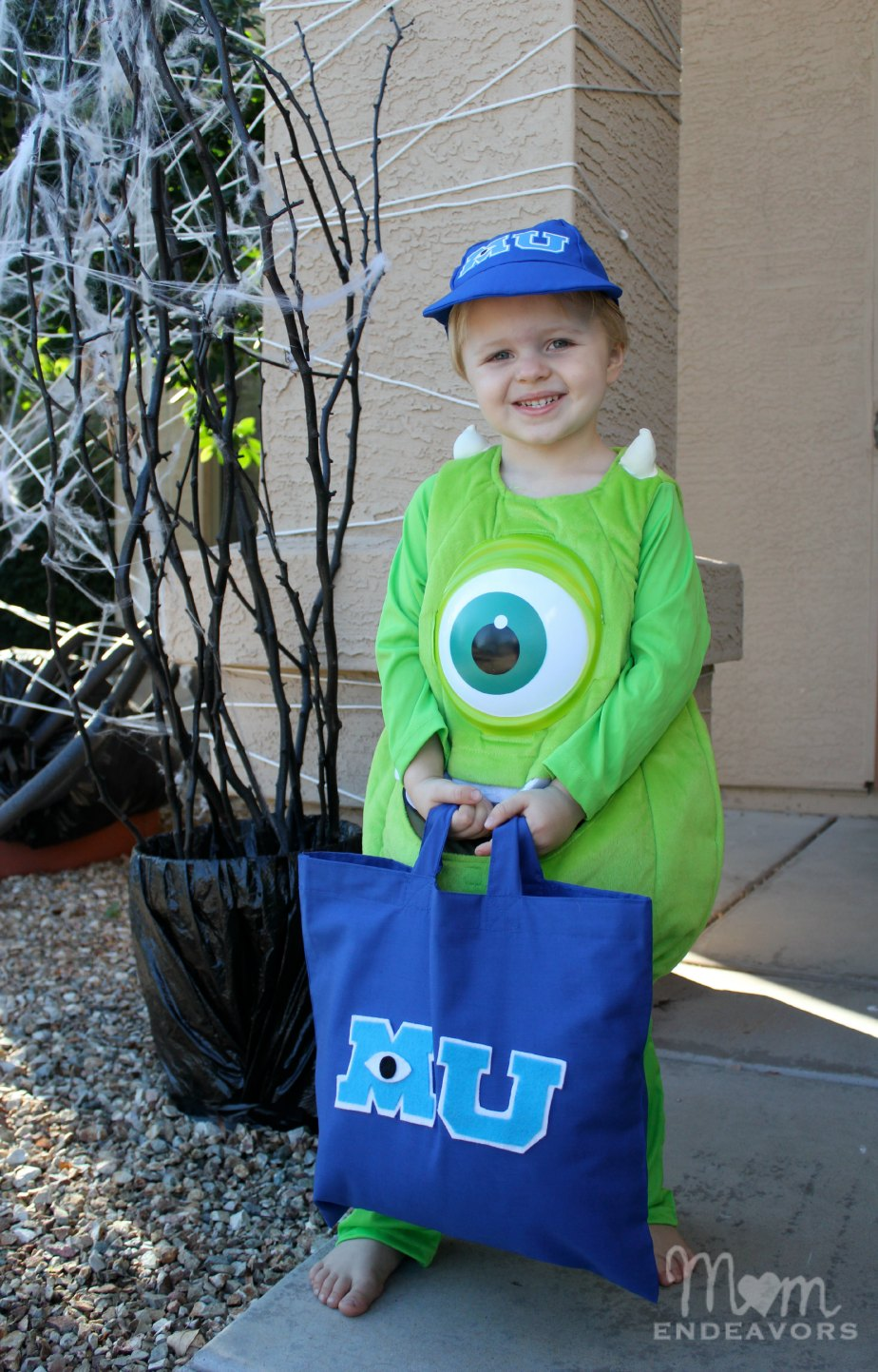 Mike Wazowski Monsters Costume