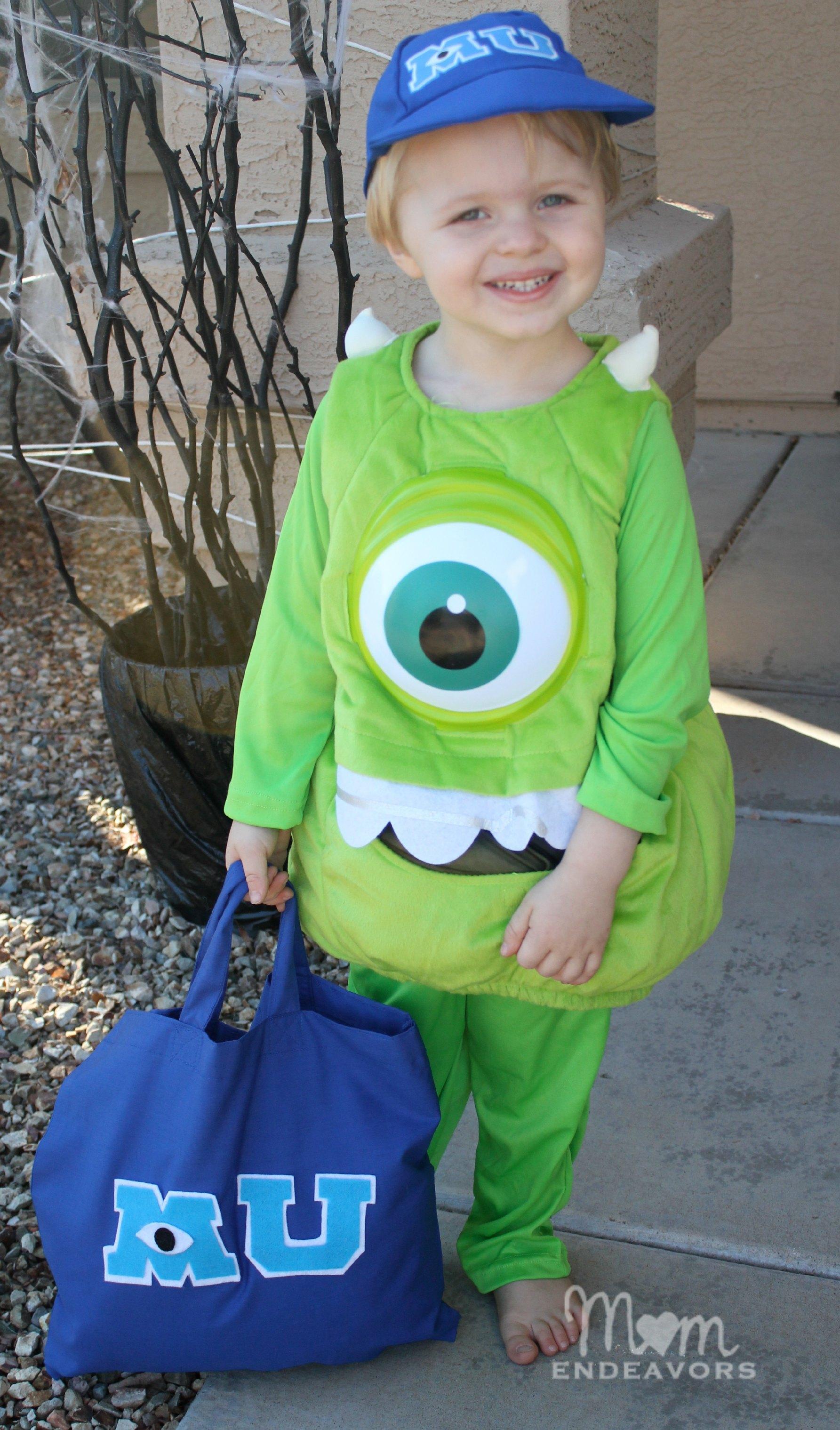 Monsters University Halloween Costume & DIY Treat Bag