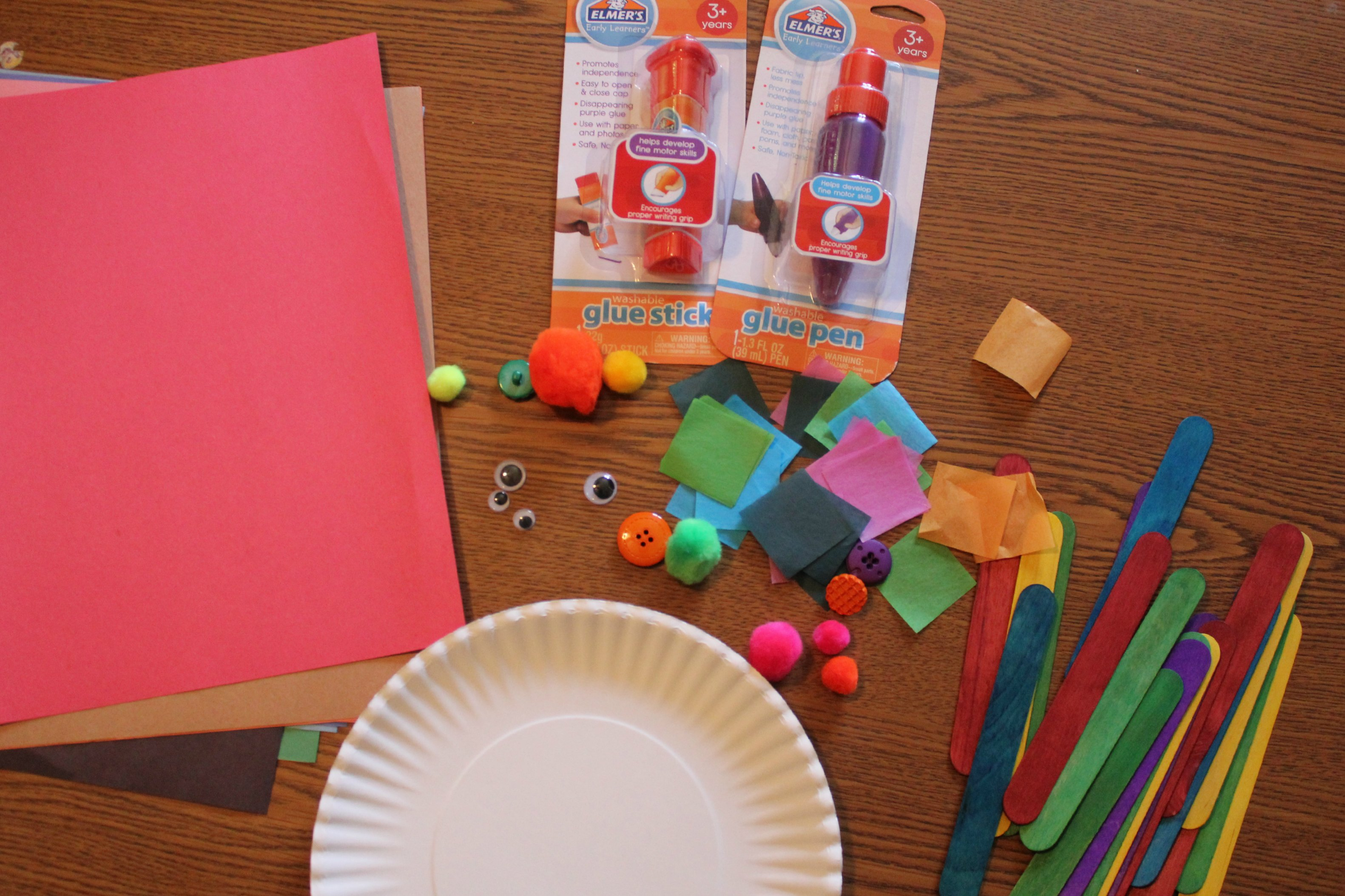 Preschool crafting