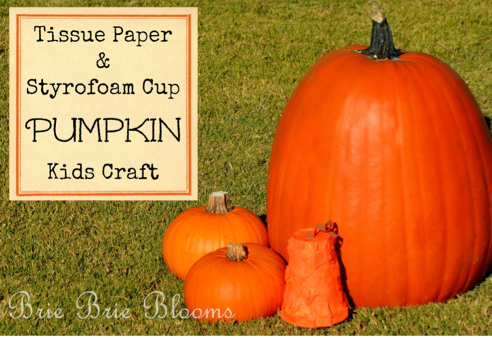 Pumpkin Kids Craft