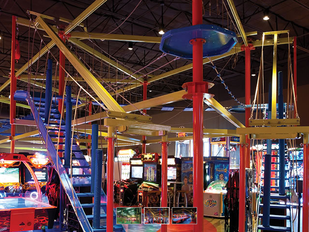 Gravity Ropes at Main Event