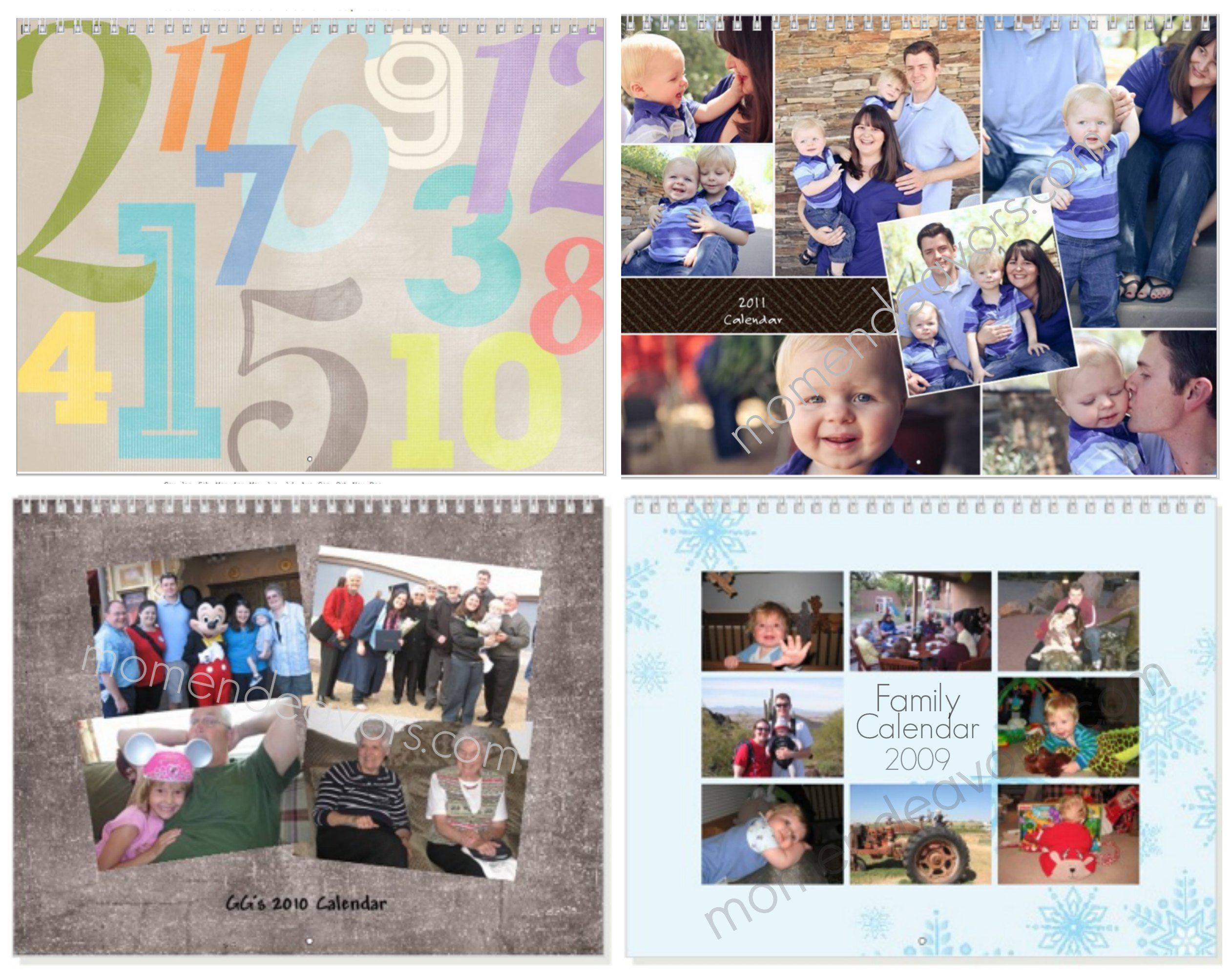 Family Calendars : Shutterfly calendars a christmas gift tradition