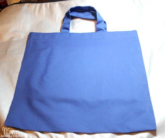 Simple DIY tote bag