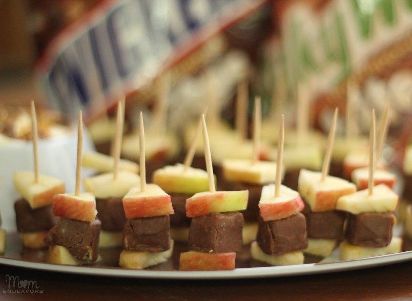 Snickers Dessert Bites