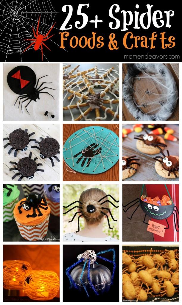 Spider Fun Foods & Crafts