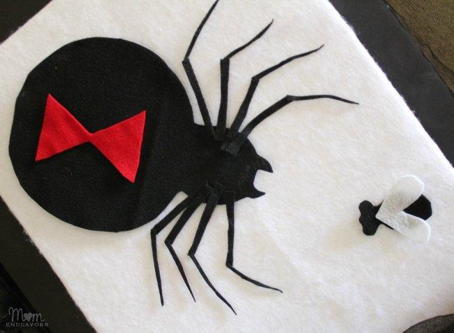 Spider felt board