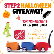 Step2 Halloween Giveaway – Win a Wagon of YOUR choice + a Safety Sam!