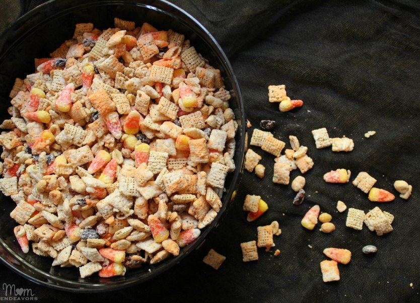 Sweet & Salty Halloween Chex Mix