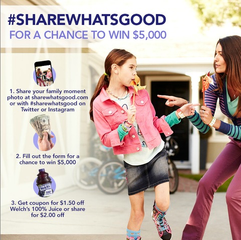 Welch's Share What's Good Contest