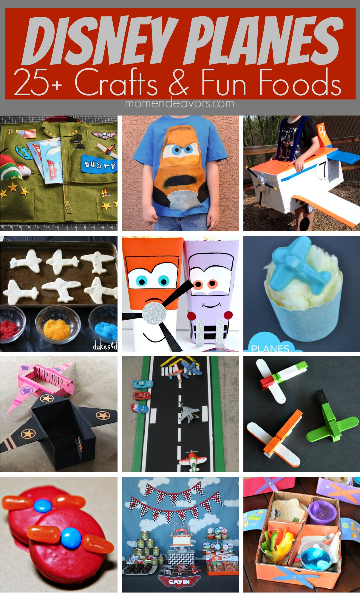 25+ Disney Planes Crafts & Fun Foods